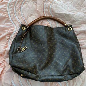 Artsy large Louis Vuitton bag authentic